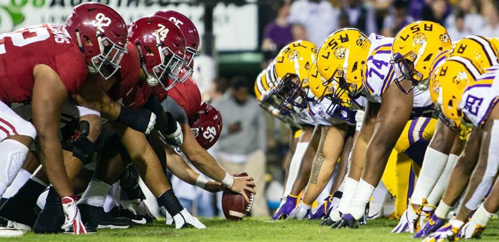 LSU vs Alabama Live Stream, Scores, TV info - BabbleSports