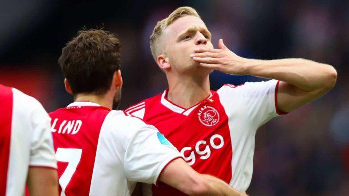 Ajax star Donny van de Beek
